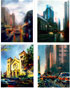 Urban, Cityscape Oil Paintings