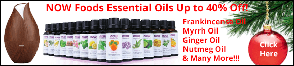 Free Shipping on orders over $49 and a great sale on NOW Foods essential oils