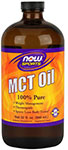 MCT Oil - 32 oz., NOW Foods