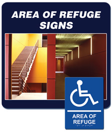 Area of Refuge Signage