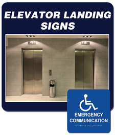 Area Of Refuge Elevator Landing Required Signage Rath