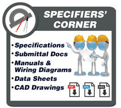 RATH® Area of Refuge Specifiers Corner includes: Manuals, Submittal Documents, Wiring Diagrams, Data Sheets and Code Requirements