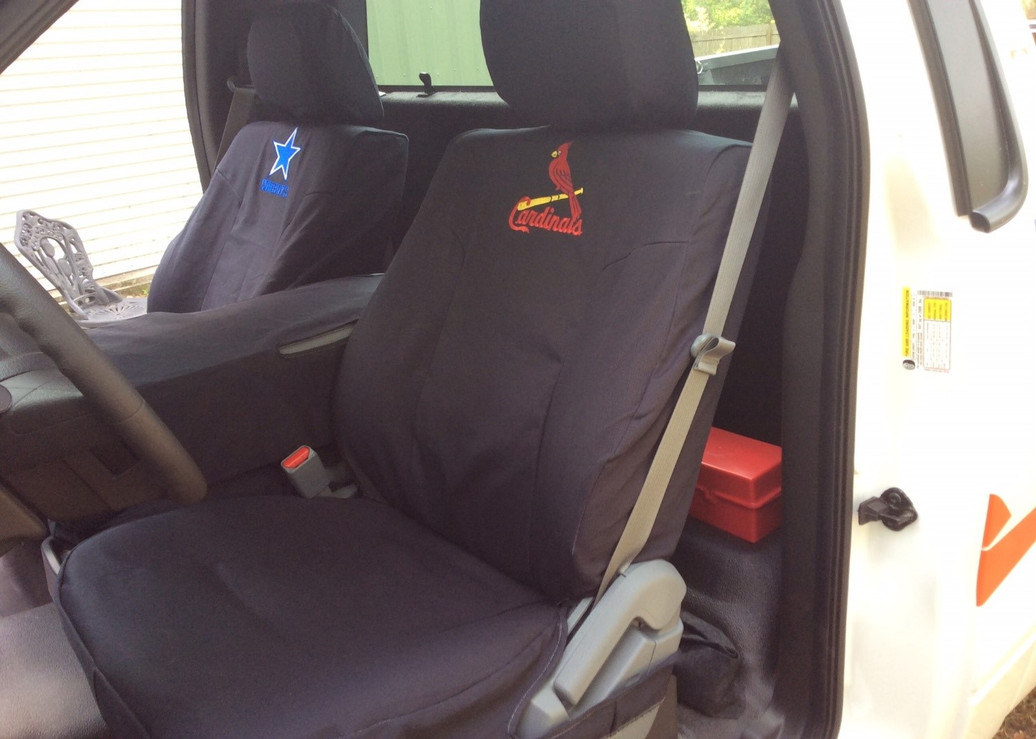 Monograms And Custom Embroidery Available Personalize Your Seat Covers With Pictures Or Name Company Logo Vehicles In