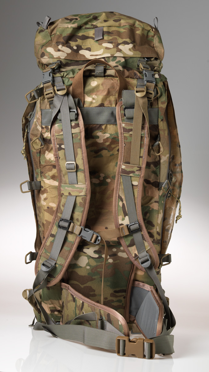 40L Sniper Pack can be securely mounted on an ALICE frame