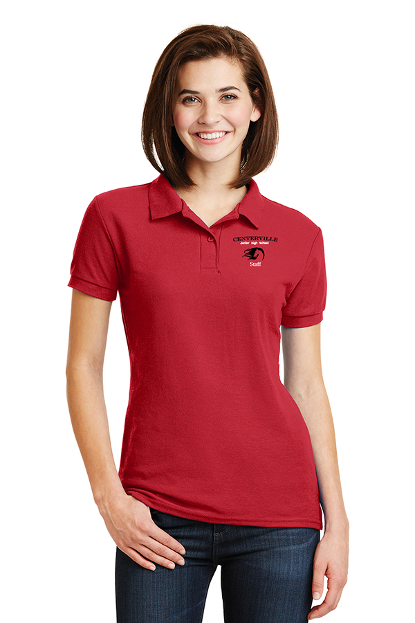 Ladies Polo Red