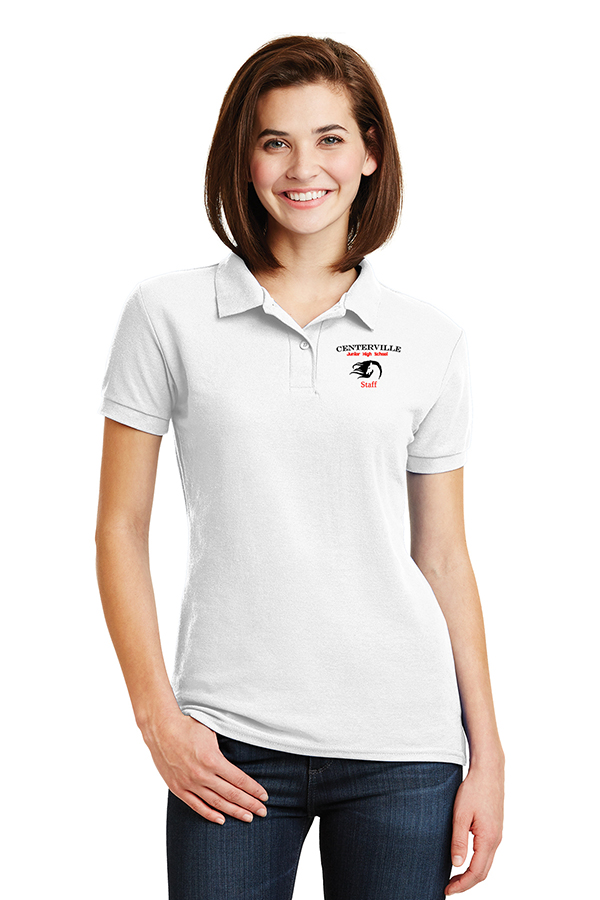 Ladies Polo White