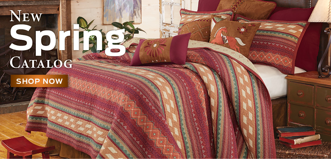 New Western Bedding!