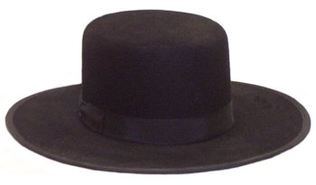 The Amish Hat is similar to a Gambler or Telescope hat. It has an open crown  with flat top 32ab0a42fec