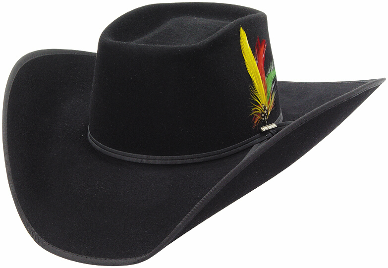 ... the brick style hat looks like a traditional cowboy hat with one major  difference the crown 4b744df1ed67