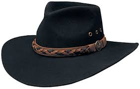Outback hats are an Australian cowboy style hat that is becoming popular in  the U.S. They are similar to a Pinchfront b41877d8ea76