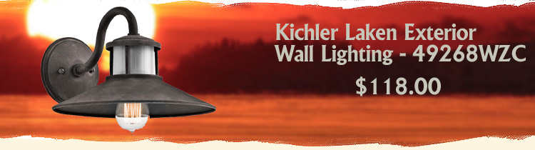 Kichler Laken Exterior Wall Lighting
