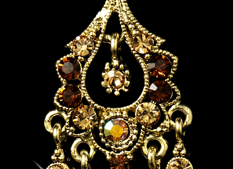 A touch of class creations promise antique gold crystal click images to enlarge mozeypictures Gallery