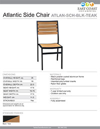 Atlantic Side Chair
