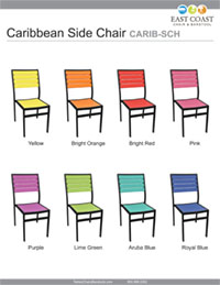 Caribbean Side Chair