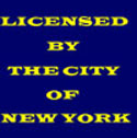 Licensed by New York