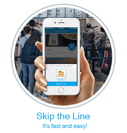 Heartland Restaurant point of sale skip the line feature