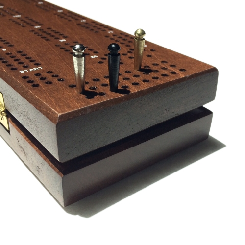Deluxe Cribbage Boards With Laser Engraving