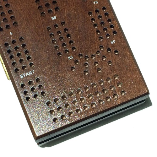 how to make ribbage boards with laser engraving