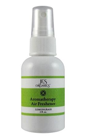 Aromatherapy Air Freshener Purse/Travel Size - USDA Organic - Choice of Lavender or Lemongrass