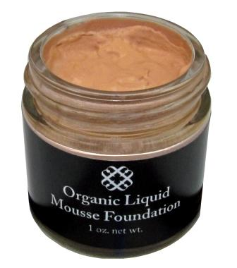 Organic Aloe Natural Liquid Sheer Mousse Foundation with Natural SPF