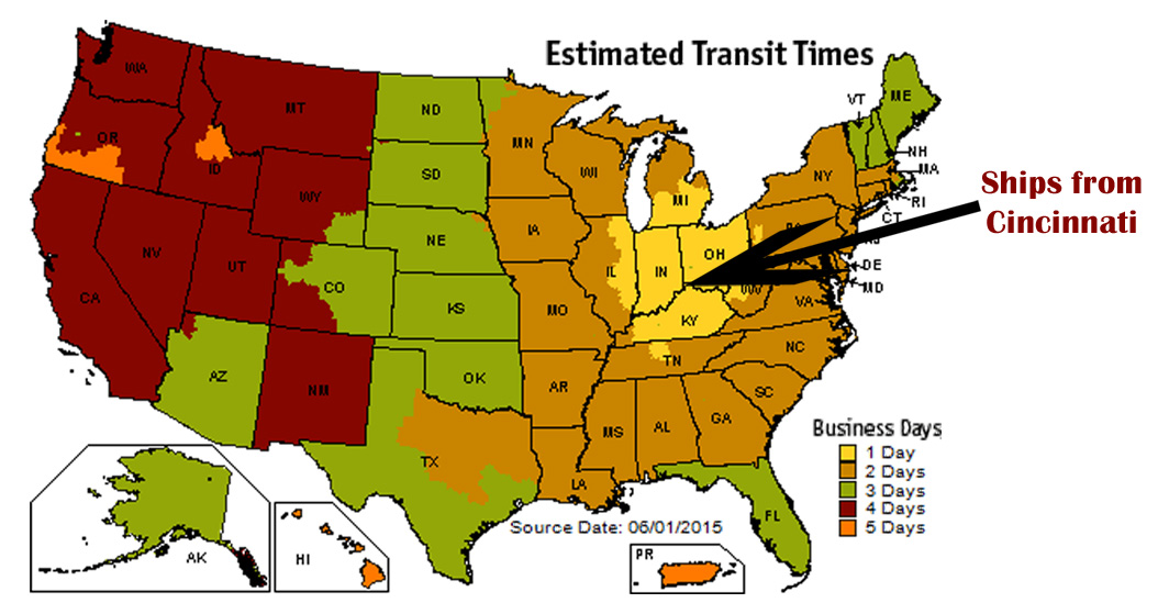 Estimated Transit Time