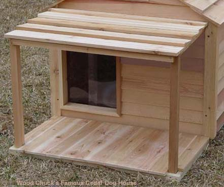 Single Door Medium Duplex Size Dog House For One Or Multiple Dogs