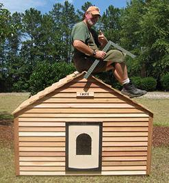 Wood Chuck dog house