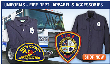 Uniforms - Kern County, Burbank Airport Fire Department -  Shirts, Pants, Shorts, Hats and Accessories; Crew Boss, Workrite