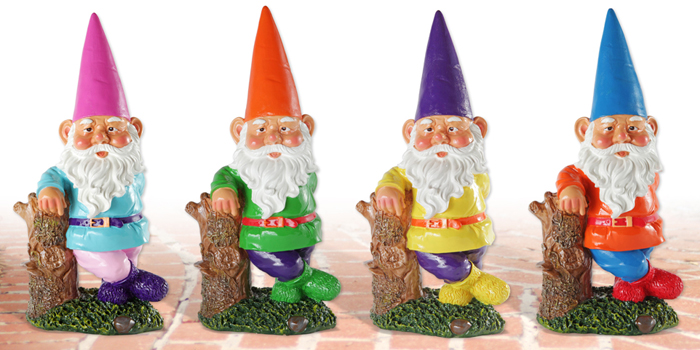 Garden Lawn Gnome Hipsters!