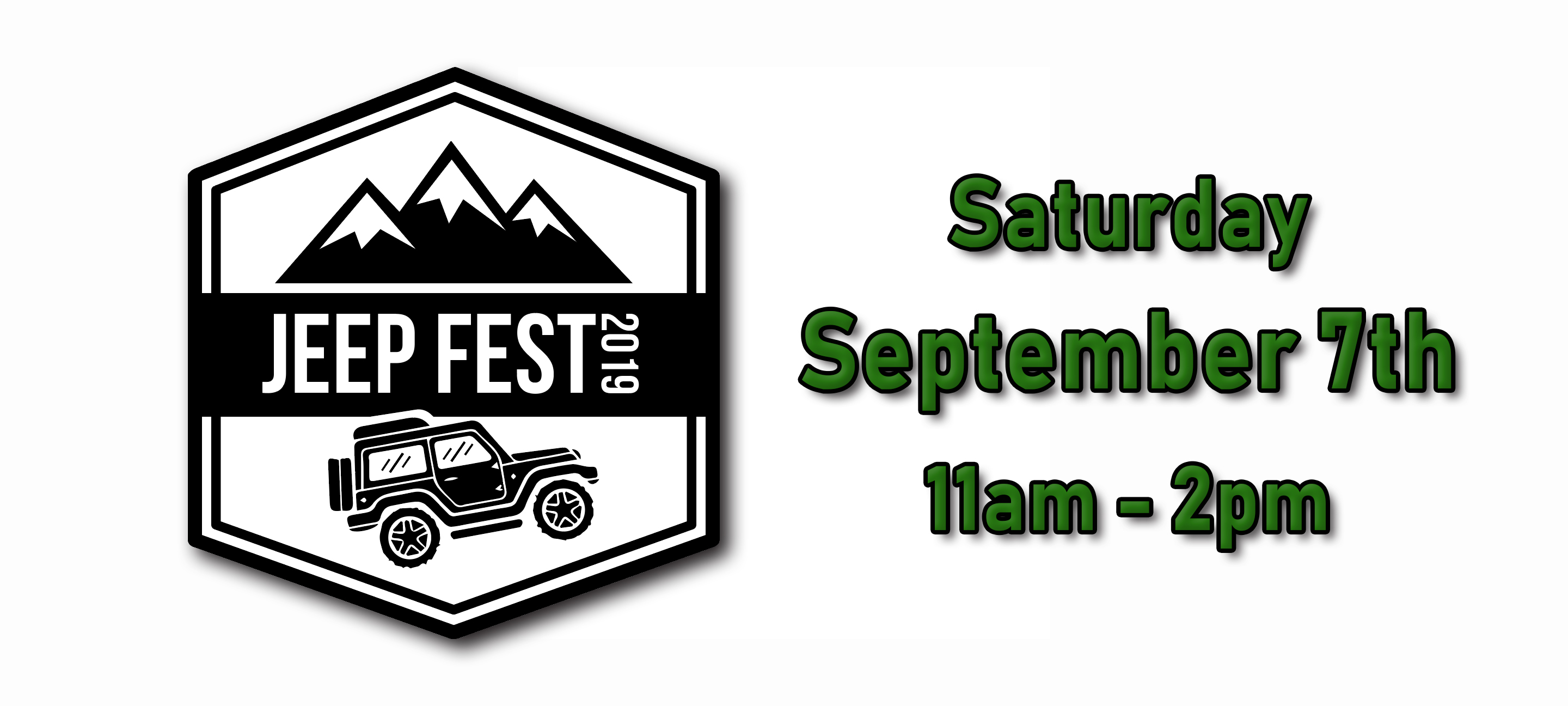 Jeep Fest 2019 - Saturday, September 7th