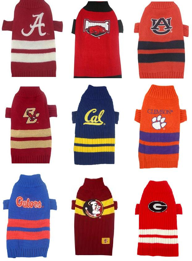 new arrival 8d434 a5c3b College Dog Sweaters - NCAA