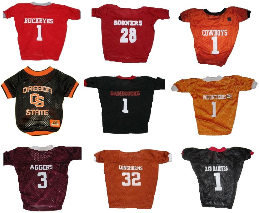 Ohio State Oklahoma Sooners Oklahoma State Oregon State University of South Carolina Tennessee Volunteers Texas A&M Texas Longhorns Texas Tech