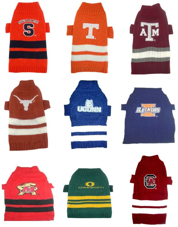 Syracuse Tennessee Volunteers Texas A&M Texas Longhorns University of Connecticut University of Illinois University of Maryland University of Oregon University of South Carolina