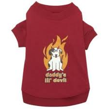 Zack & Zoey Dog Halloween T-shirt - Daddy's Lil Devil