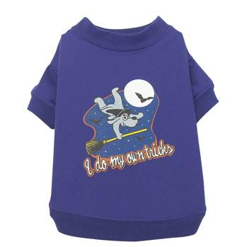 Zack & Zoey Dog Halloween T-shirt - I do tricks