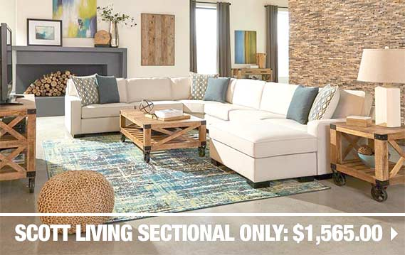 dallas furniture outlet featured sectional