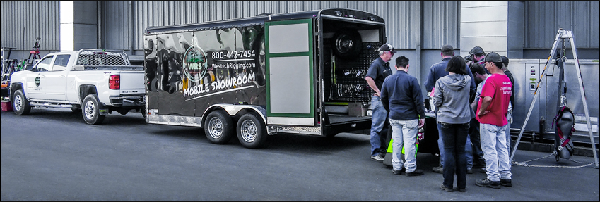 Mobile Showroom Exterior
