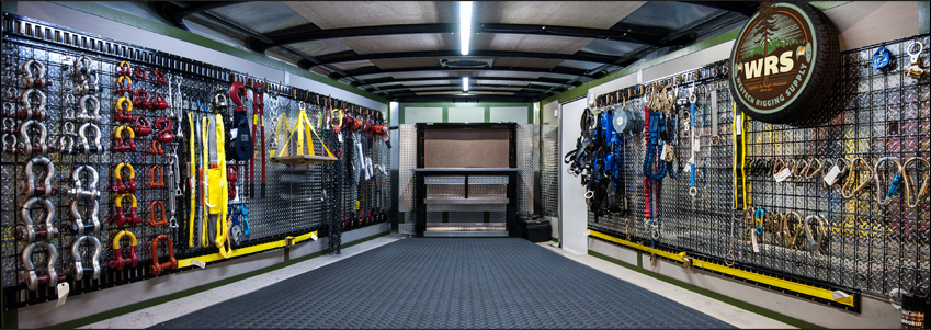 Mobile Showroom Interior