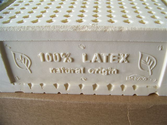 3 inch natural latex mattress pad