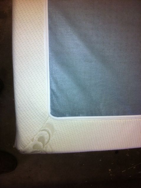 Zippered Bamboo Cotton Mattress Topper Covers Latex
