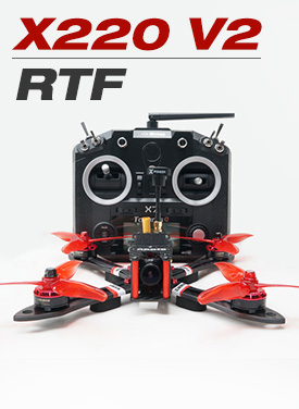 ARRIS X220 220MM FPV Racing Drone RTF with Frsky Q X7 Radio