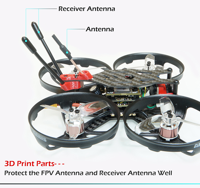 ARRIS X110 HD 3-4S FPV Racing Drones BNF
