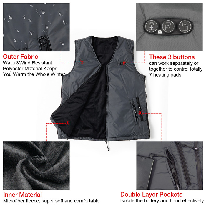 arris battery heated clothing