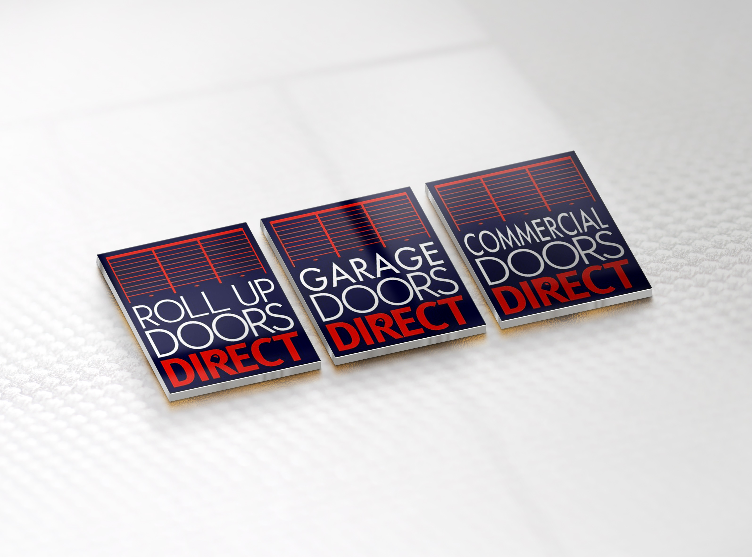 roll up door logo & Buy Doors Direct contact details. Call 1-877-RLDOORS.