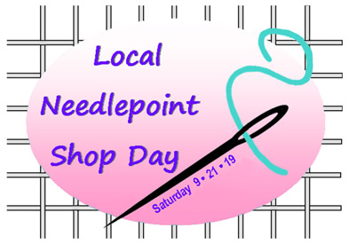 Local Needlepoint Shop Day 2019