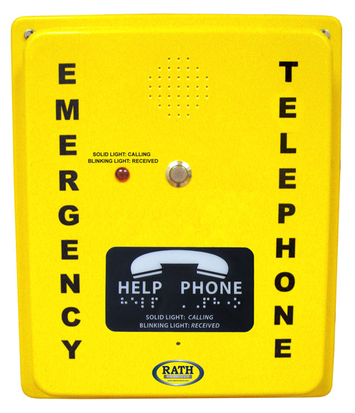 2100-986DIP Emergency VoIP Speaker Phone (Hands Free