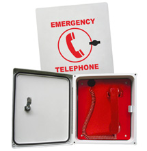 2300-614GSM Enclosed Emergency Phone (Hands Free)