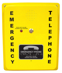2400-886DA Emergency Analog Speaker Pool Phone
