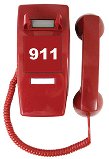 610POOL Emergency Analog Pool Phone with (Handset & Coil Cord)