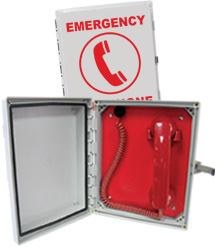 624POOL Emergency Handset Phone (Direct Dial)